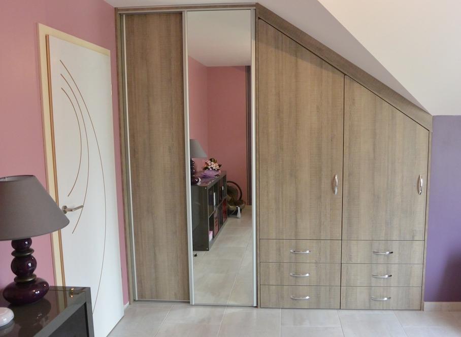 aménagement chambre en sous-pente 1
